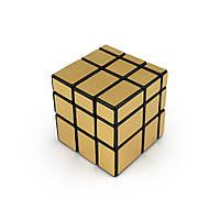 Кубик Рубика 3х3х3 Зеркальный (золото)