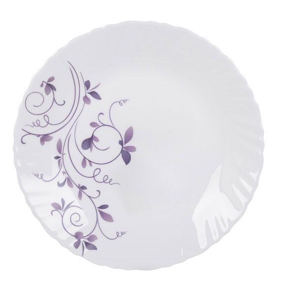 Тарелка 23см La Opala Classique Dazzle Purple 11132lo