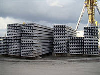 Плиты перекрытия ж/б многопустотные ПК шириной 1000, длиной от 1800 до 7200