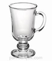 Глинтвейн Бокал для лате прозорая 200мл d7,6 см h14,2 см стекло Гусь Хрустальний