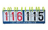 Табло перекидное для игр C-2240 (3х3, металл, пластик, р-р 55см x 19см)