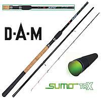 Фидер DAM Sumo TRX Carp Feeder 3.30м 75гр