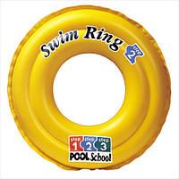 Детский надувной круг 58231 K Школа плавания