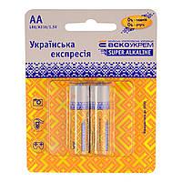 Батарейка AA / LR6 АскоУкрем Alkaline (2шт.)