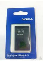 Аккумулятор (батарея) BL-5J для мобильных телефонов Nokia 5230, 5235, 5800, 5900, Asha 200, 302, C3-00, N900,