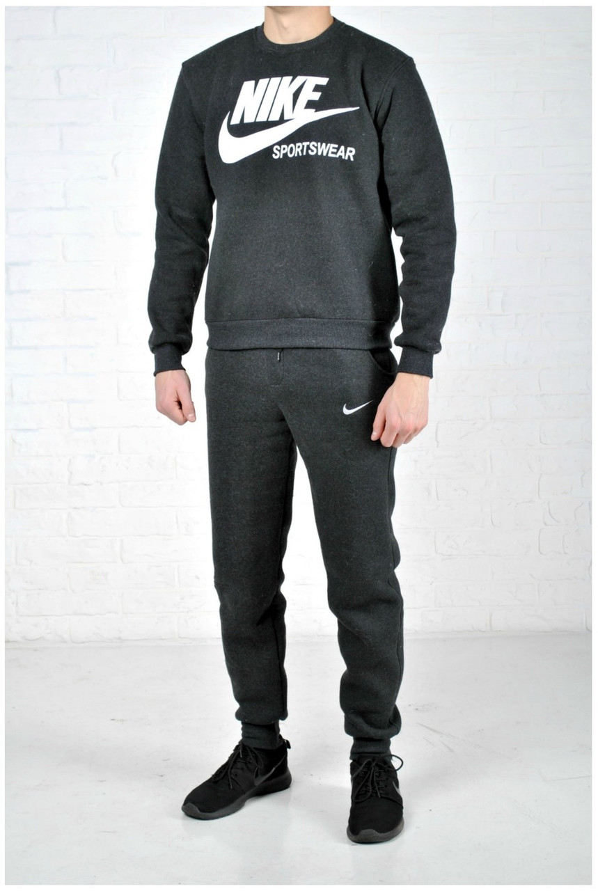 Теплый спортивный костюм мужской Nike (найк) 05ffa452a7b6d
