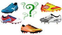 Как выбрать футбольную обувь?
