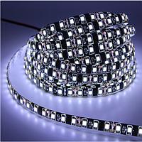 Светодиодная лента LED влагозащищённая на черной основе, 12V, SMD3528, IP65, 60 д/м, белый холодный