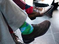 Как носить мужские носки?