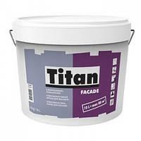 Фасадная краска Titan Facade 10л – Атмосферостойкая Краска Для Фасадов..Титан Фасад