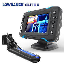 lowrance Elite-5 Ti Mid/High/TotalScan™ (000-12423-001)