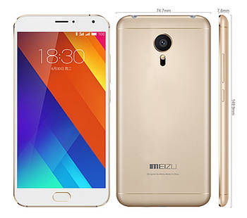 СмартфонMeizu MX5 16GB (Gold)