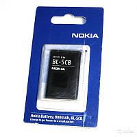 Аккумулятор (батарея) BL-5CB для мобильных телефонов Nokia C1-02