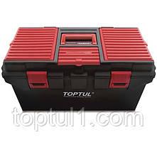Ящик для инструмента TOPTUL TBAE0401  4 секции (пластик) 556x278x270 мм