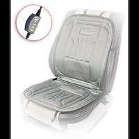Накидка на сиденье с подогревом серая ДК514