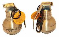 Зажигалка брелок граната с карабином 23380