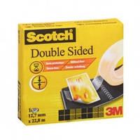 Двусторонняя клейкая лента Scotch,  12 мм х 22,8 м