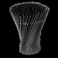 Трубочки для напитков Черные 265 мм