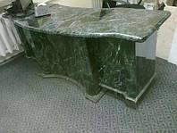 Стол для офиса из натурального камня