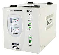 Автоматический стабилизатор напряжения напольный Днипро-М АСН-5000П  (Бесплатная доставка)