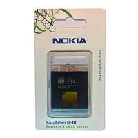 Аккумулятор (батарея) BP-6M для мобильных телефонов Nokia 3250, 6151, 6233, 6234, 6280, 6288, 9300, E72TV, N73