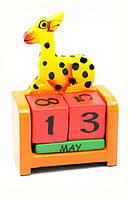 Календарь настольный Жираф дерево