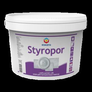 Клей для стиропора Styropor Eskaro 3кг