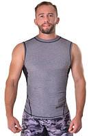 Майка компрессионная мужская для тренировок Berserk Sport серый