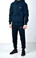 Зимний спортивный костюм мужской Nike (найк), синий