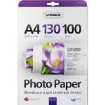 Фотобумага Videx глянцевая ( формат А4, плотность 130 г/м2 односторонняя глянцевая ) 100 листов