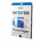 Фотобумага Videx глянцевая ( формат А4, плотность 150 г/м2 односторонняя глянцевая ) 100 листов