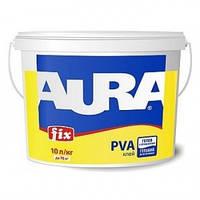 Aura Fix PVA 1л – Клей ПВА.