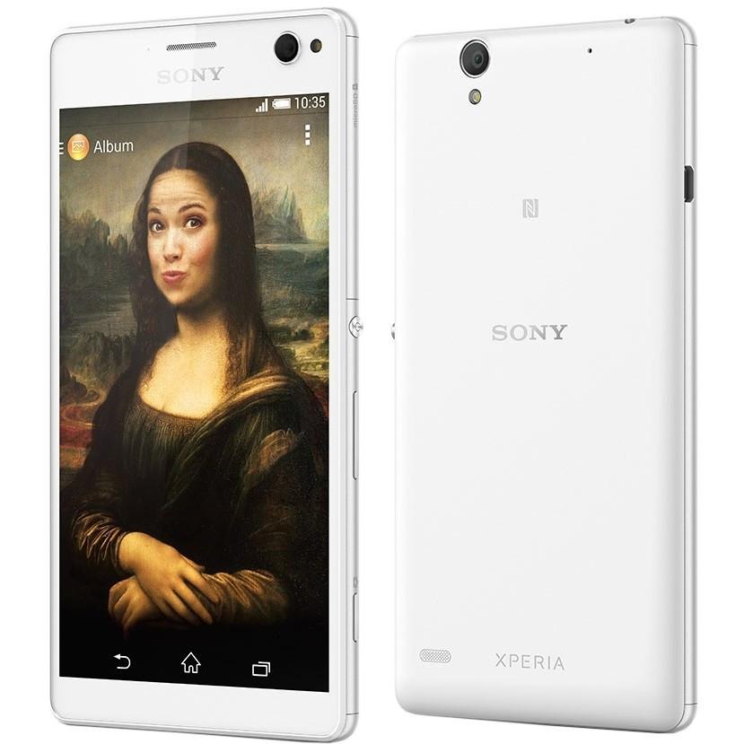 Смартфон Sony Xperia C4 Dual (White)