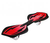 Двухколесный скейтборд Ripstik Ripster Classic Red