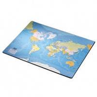 Покрытие настольное с картой мира