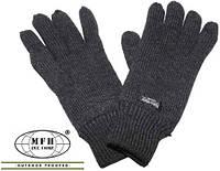 Перчатки Thinsulate MFH Extreme 15483A (Тёмно-серые)  (до -25)