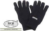 Перчатки Бундесвера Thinsulate акриловые MFH0 15493B (Чёрные)  (до -25) L