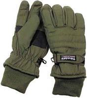 Перчатки Бундесвера для рыбалки Thinsulate оливковые MFH 15473B (Оливковые) (до -25) M
