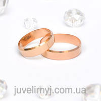 Обручальные кольца Европейка с алмазной гранью 2.81, 143413, 19.5