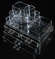 Органайзер для косметики с ящиками для бижутерии SF-1157