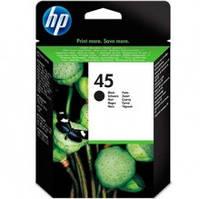 Картридж струйный HP для DJ 850C/1100C/1600C HP 45 Black