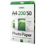 Фотопапір Videx глянцева ( формат А4, щільність 200 г/м2 одностороння глянцева ) 50 аркушів