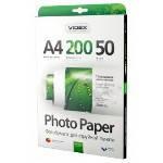 Фотобумага Videx глянцевая ( формат А4, плотность 200 г/м2 односторонняя глянцевая ) 50 листов