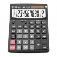 Калькулятор Brilliant BS 2222, 12-разрядный