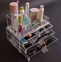Органайзер косметики с ящичками Cosmetic Organizer 4 Drawer
