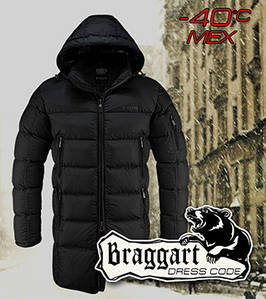 Зимняя куртка длинная мужская