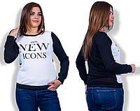 """Стильная женская кофта для пышных дам  """" Icons """" Dress Code"""