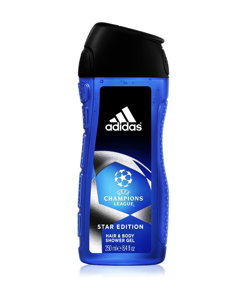 Чоловічий гель для душу Adidas UEFA 2в1 250 мл