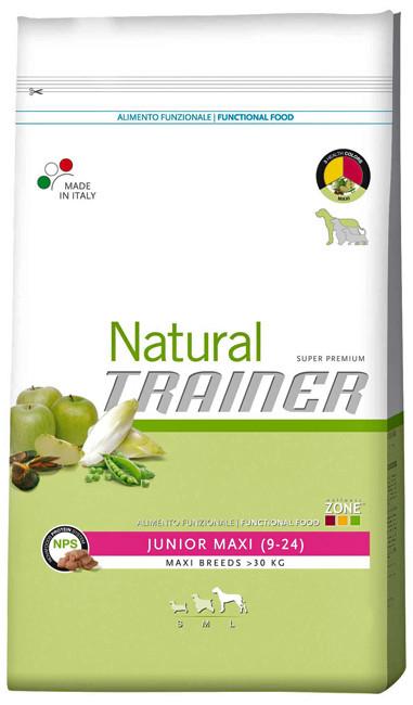 Корм для молодых собак гигантских пород Trainer Natural Junior Maxi
