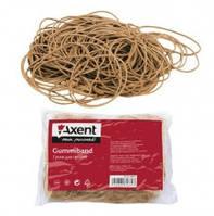 Резинки для денег Axent, 200 г, натуральный каучук